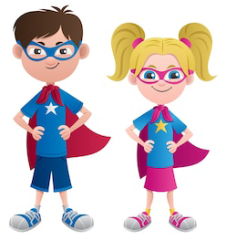 Smart Superhero kids